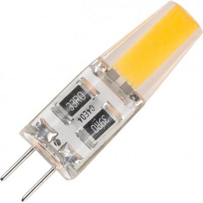 LED G4 COB T10x36 12V 160Lm 1,5W 2700K 360° DC silicone  čirá stmívatelná