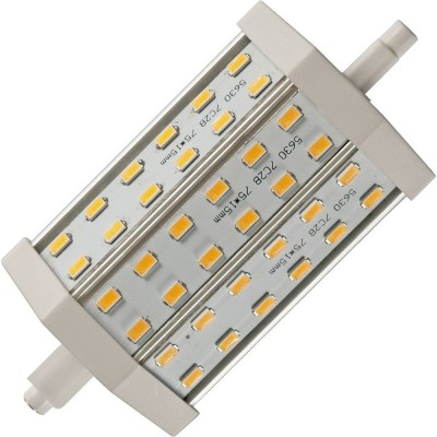 LED R7s 118x54x40mm 850Lm 10W 3000K 830 180° AC 85-265V  čirá není stmívatelná