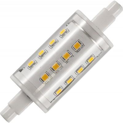 LED R7s Ø25x78mm 400Lm 5W 3000K 830 360° AC 85-265V  čirá stmívatelná