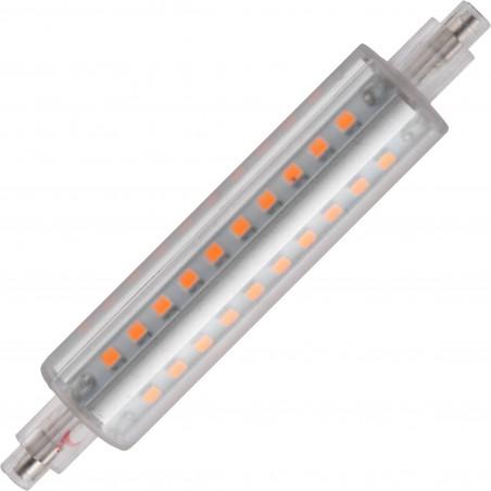 LED R7s Ø22x118mm 900Lm 10W 2700K 827 360° AC 230V matná stmívatelná - COMMERCIAL LINE