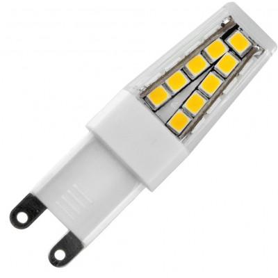 LED G9 16x54mm 180Lm 2W 2700K 827 360° AC 230V  čirá není stmívatelná Blister