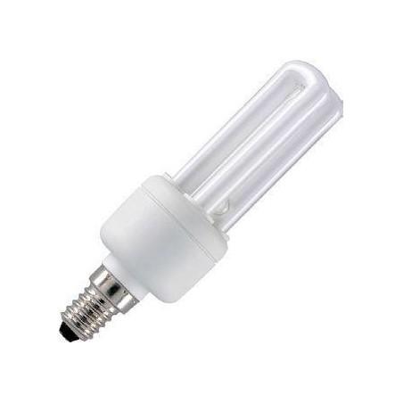CFL E14 2U Sticks 230V 8W 36x119 450Lm 2700K 10.000h