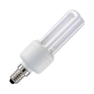 CFL E14 2U Sticks 230V 11W 36x139 670Lm 2700K 10.000h