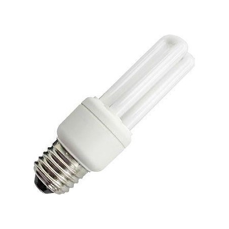CFL E27 2U Sticks 230V 15W 41x160 810Lm 2700K 10.000h