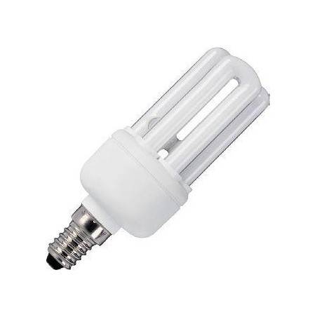 CFL E14 3U Sticks 230V 9W 38x109 510Lm 2700K 10.000h