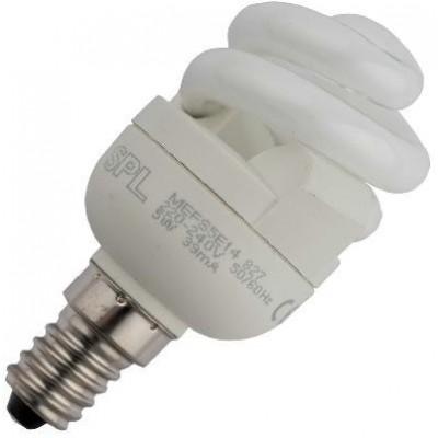 CFL E14 T2 spirála 230V 5W 39x81 290Lm 2700K 10.000h