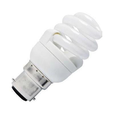 CFL B22 T2 spirála 230V 15W 42x109 870Lm 2700K 10.000h