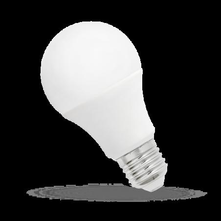 LED GLS (klasický tvar) E-27 230V 7W 500 lm teplá bílá 2700 - 3300K (žluté světlo)