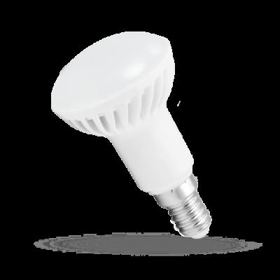 LED R50  E-14 230V 6W studená bílá 6000 - 7000K (bílé světlo)