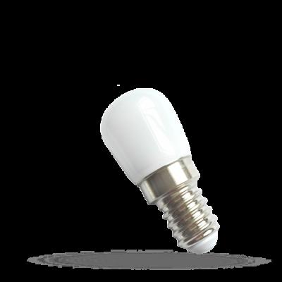 LED panelové podsvícení 230V 2W E-14 studená bílá 6000 - 7000K (bílé světlo)