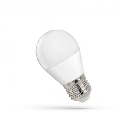 LED koule  E-27 230V 7W studená bílá 6000 - 7000K (bílé světlo)