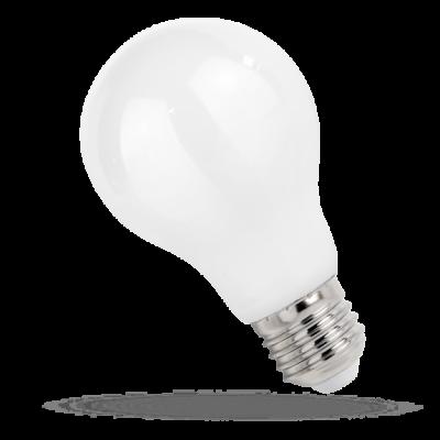 LED GLS E-27  230V 9W COG čip na skle teplá bílá 2700 - 3300K (žluté světlo) bílá