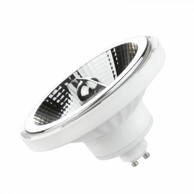 LED AR111 GU10 230V 15W SMD 45° neutrální bílá 4000 - 5500K  bílé provedení