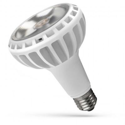 LED PAR30 E27 230V 20W COB čip na desce 24° teplá bílá 2700 - 3300K (žluté světlo) bílá