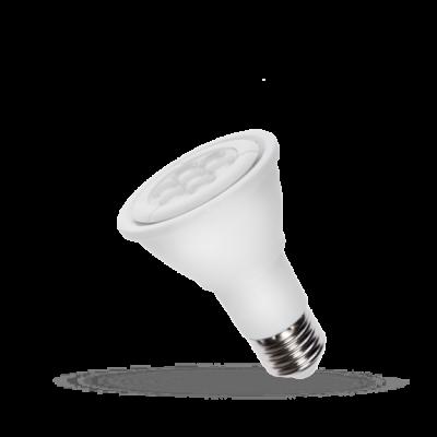 LED PAR20 E-27 230V 6W studená bílá 6000 - 7000K (bílé světlo)