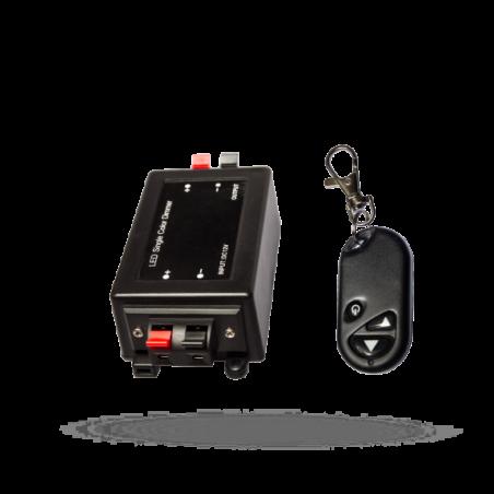 LED stmívač RF 12V 8A 1CH ovladač-k LED páskům