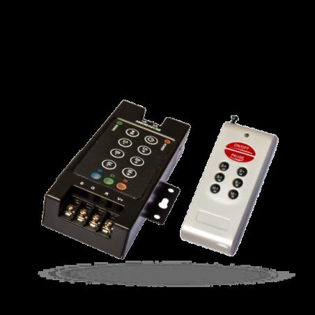 RGB Ovladač RF8B s dálkovým ovladačem-k LED páskům