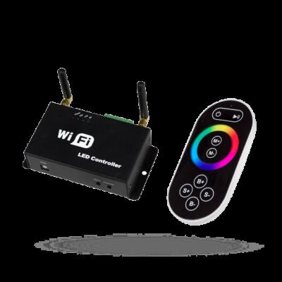 RGB Ovladač PLAY MINI II WIFI s dálkovým ovladačem-k LED páskům