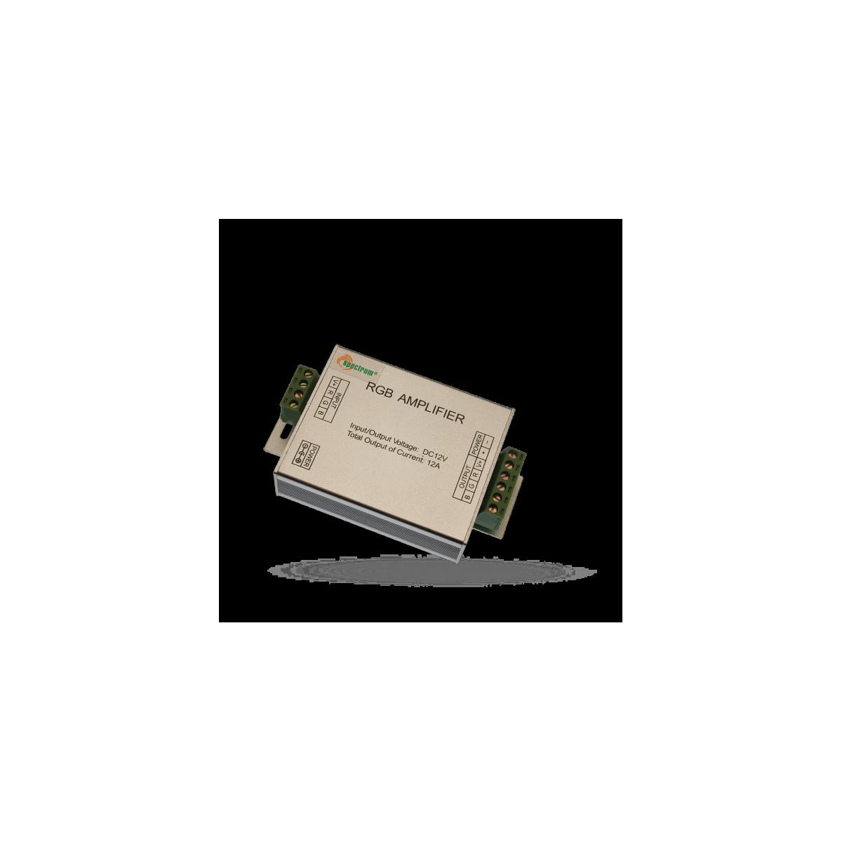 Repeater RGB (zesilovač signálu) 12V k LED páskům RGB