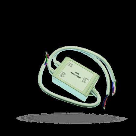 Repeater RGB (zesilovač signálu) 12V 4A/1CH vodotěsný IP65-k LED páskům
