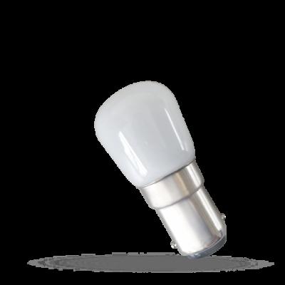LED panelové podsvícení 230V 2W Ba15d teplá bílá 2700 - 3300K (žluté světlo)