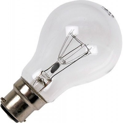 Žárovka BA22D GLS 60X105MM 130V 40W 5C9 RC čirá 3.000h stmívatelná