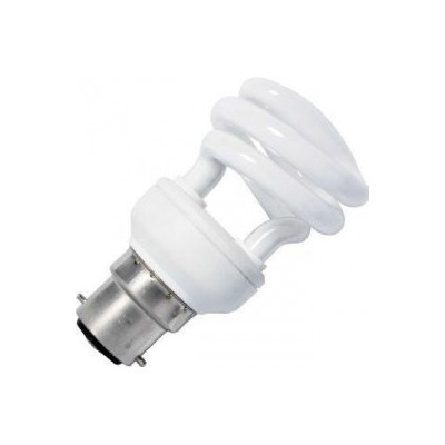 CFL B22 T3 poloviční spirála 230V 20W 61x112 1230Lm 2700K 10.000h
