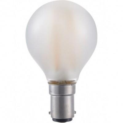 LED Ba15d kulička vlákno G45x75mm 230V 140Lm 1.5W 2500K 925 360° AC matná stmívatelná