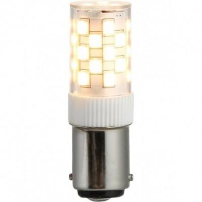 LED Ba15d Tube T17x52 230V 380Lm 3.5W 830 AC/DC čirá není stmívatelná