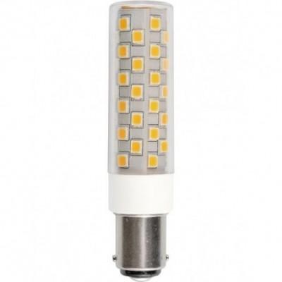 LED Ba15d Tube T18x80 230V 840Lm 6W 830 AC/DC čirá stmívatelná